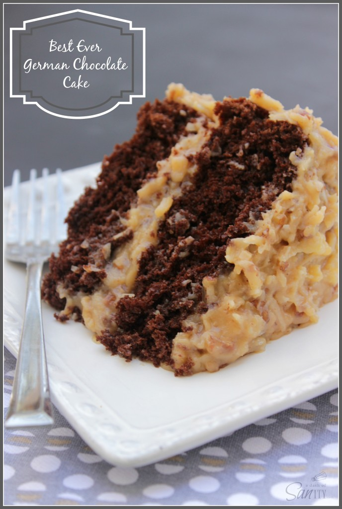 German Chocolate Cheesecake Cake Recipe