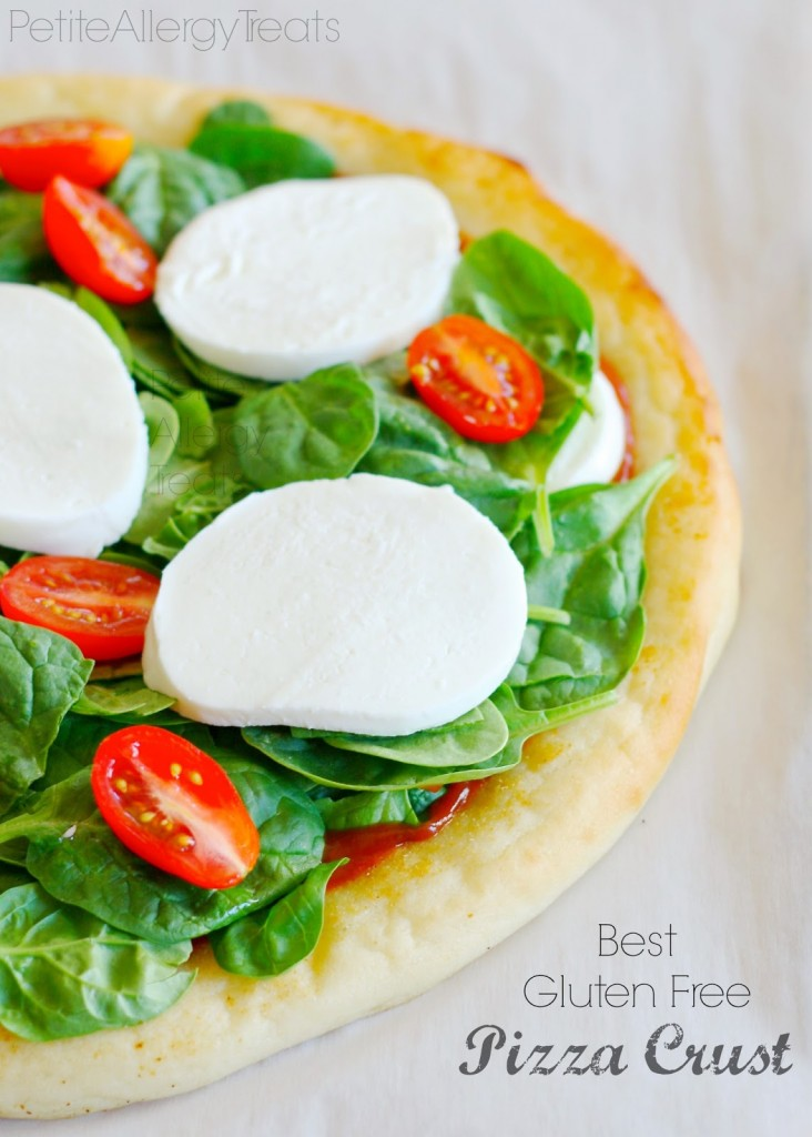 Gluten Free Pizza Crust (Vegan & Egg Free) from Petite Allergy Treat