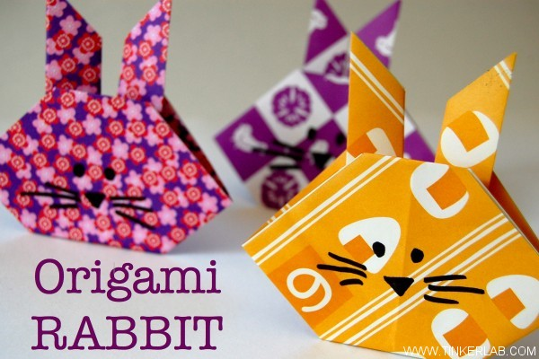 How To Make A Easy Origami Easter Egg