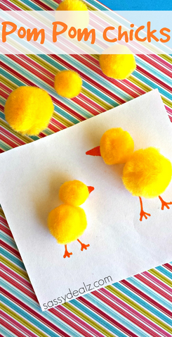 pom-pom-chicks-craft