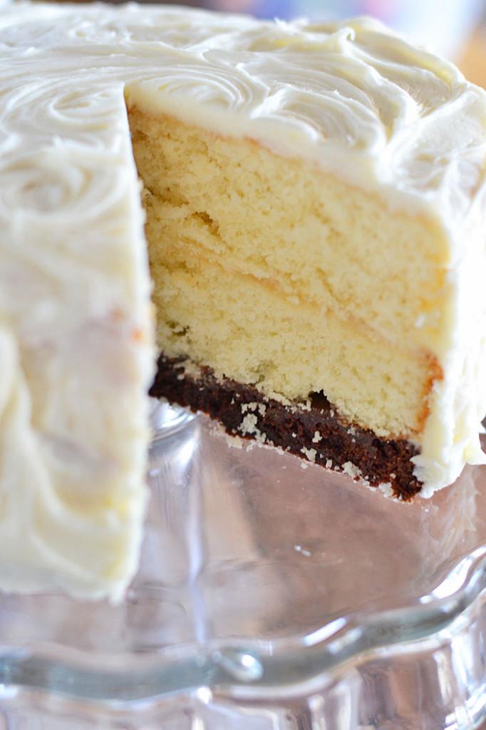 Banana Fudge Layer Cake Mary Berry