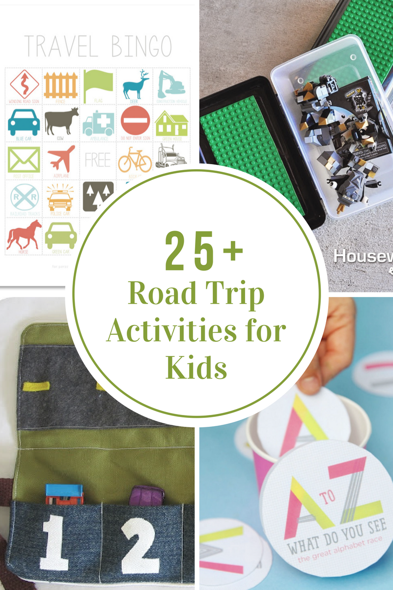 Road Trip Activities Traveling With Kids The Idea Room
