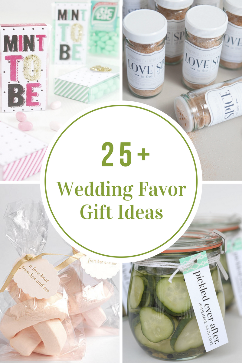 Wedding Favor Gift Ideas The Idea Room