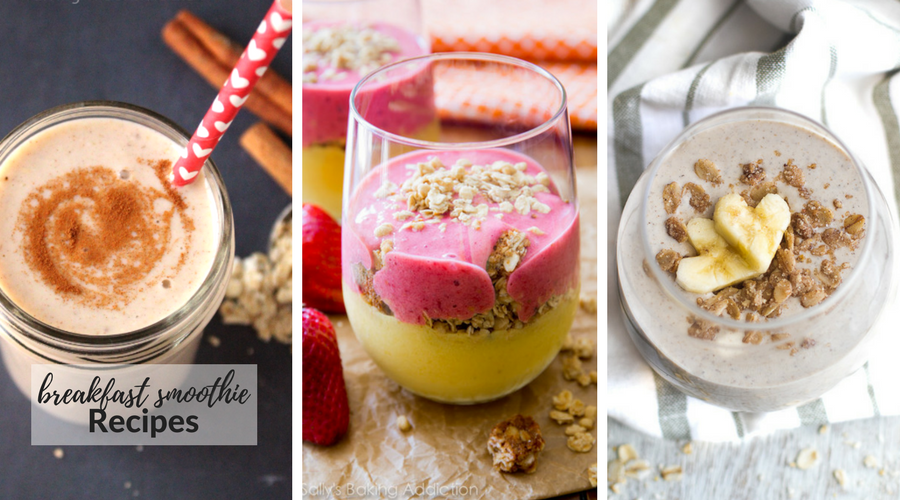 breakfast smoothie recipes