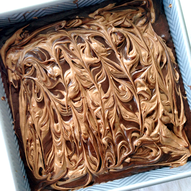 Chocolate-Cream-Cheese-Swirl-Brownies