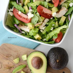 Chopped Avocado Salad 3