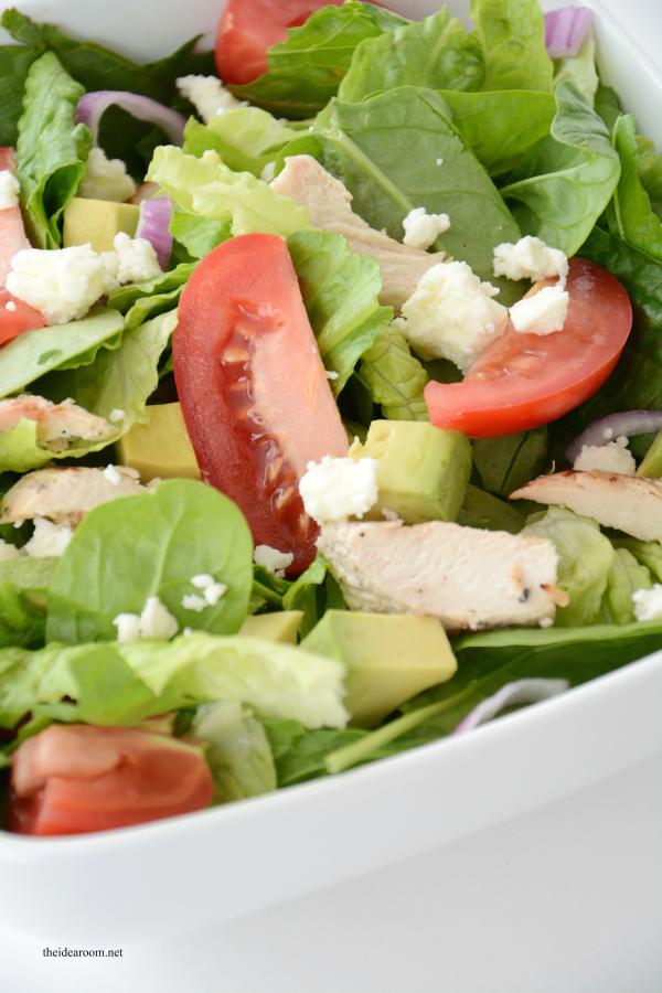 Chopped Avocado Salad 7