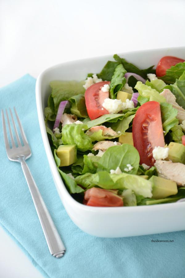 Chopped Avocado Salad 8