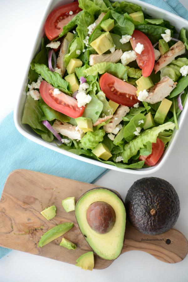 Chopped Avocado Salad 9