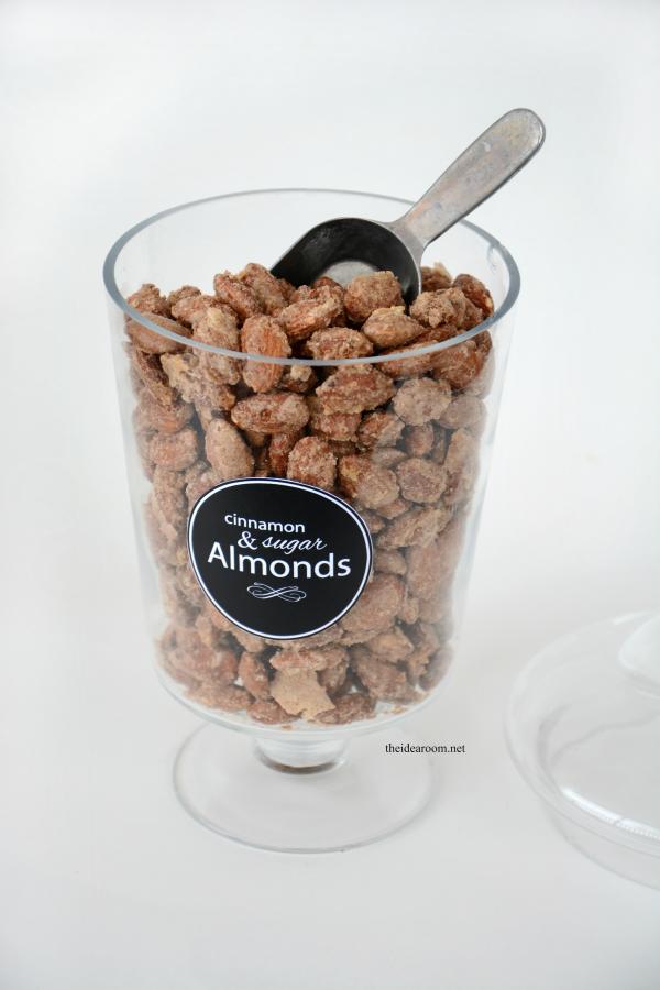 Cinnamon and Sugar Almonds 2