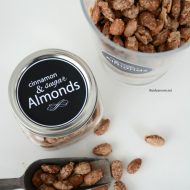 Cinnamon and Sugar Almonds