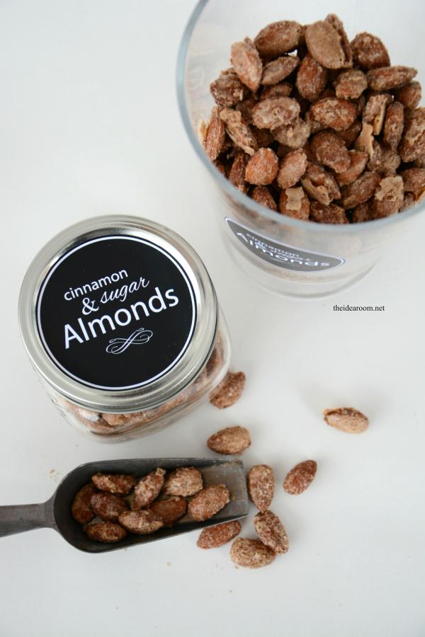 Cinnamon and Sugar Almonds 3
