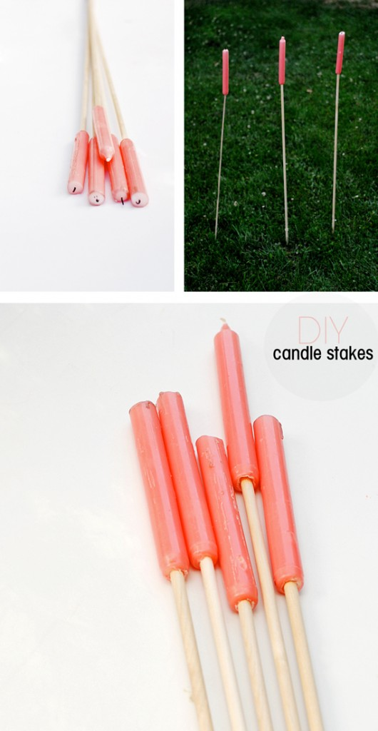 DIY-candle-stakes
