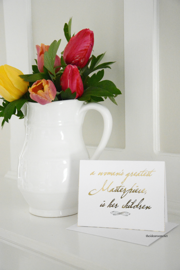 Gold Foil Mother's Day Sign 2