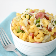 Macaroni and Cheese Kielbasa