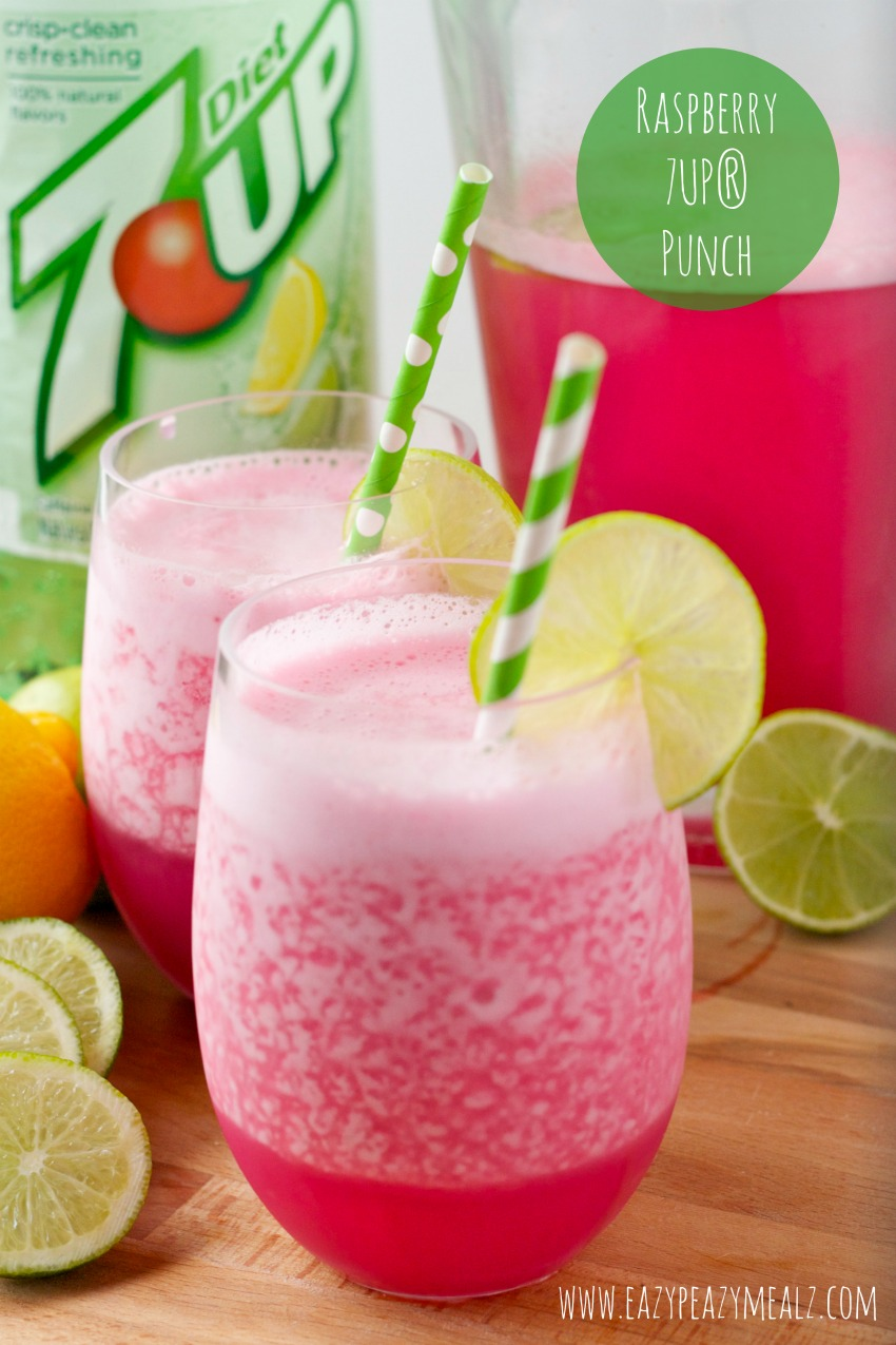 Raspberry-7UP®-punch