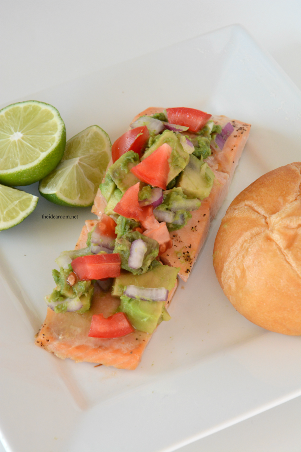 Salmon Avocado Salsa