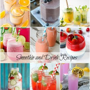 Top 40 BEST Smoothie and Drink Recipes