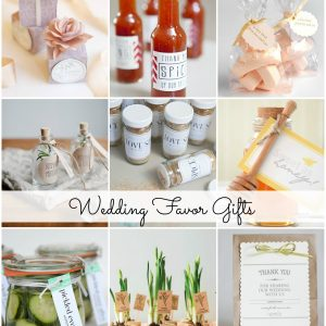 Wedding Favors Gift Ideas
