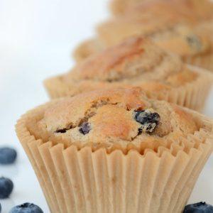 banana blueberry muffins 3