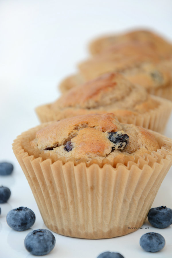 banana blueberry muffins 3