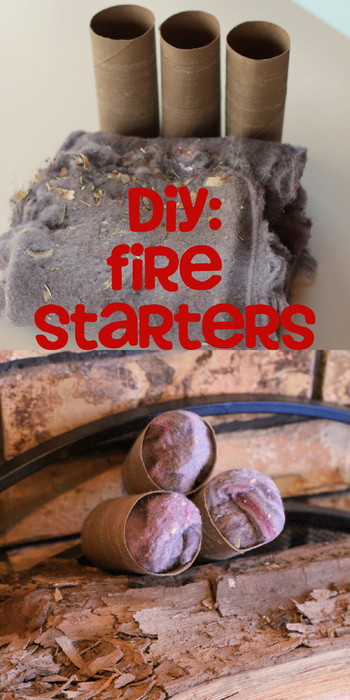 how to make fire starters with shredded paper