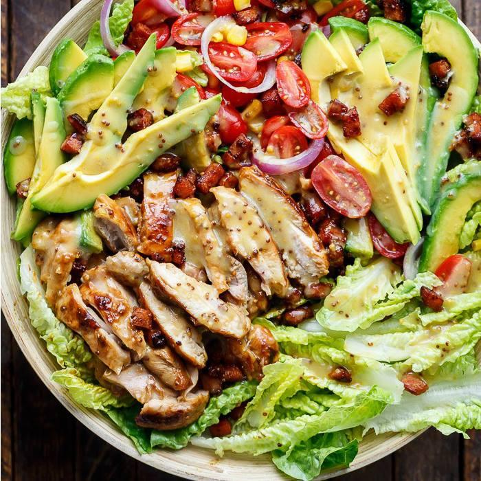 Honey Mustard Chicken Salad from Cafe Deli tes