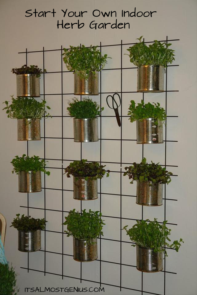Hanging Herb Garden Ideas outdoor herb garden ideas - the idea room