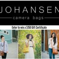 Johansen Camera Bags Giveaway