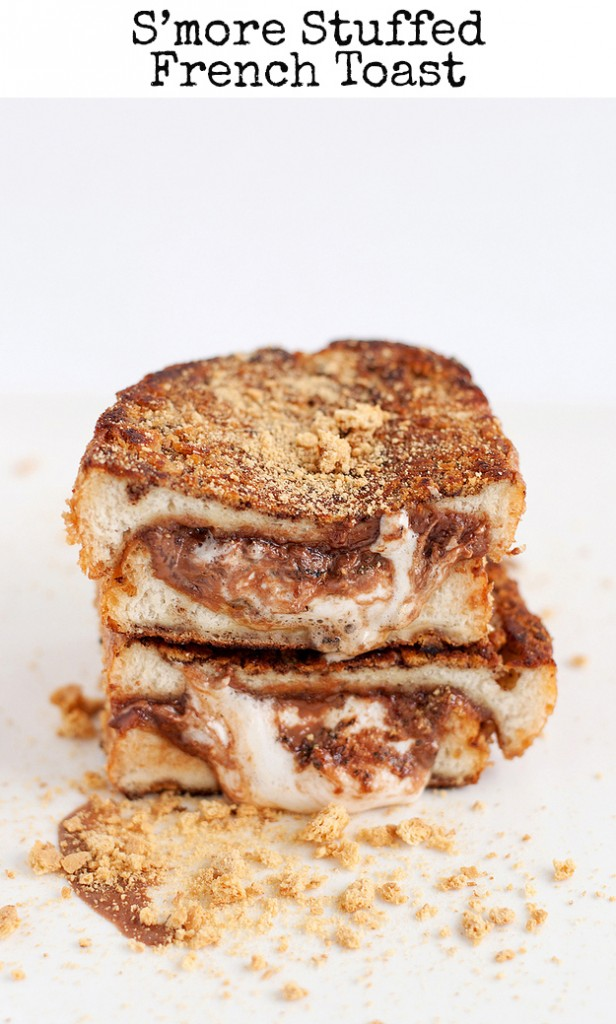 smore stuffed french toast