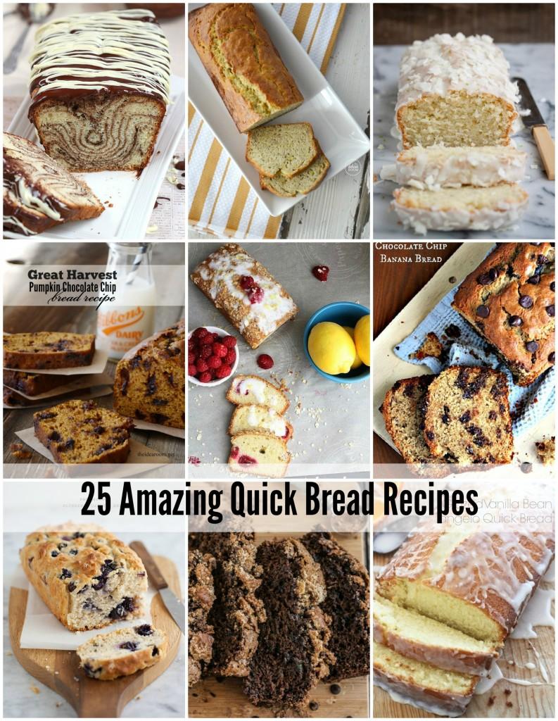 25 Quick Bread Recipes Cover