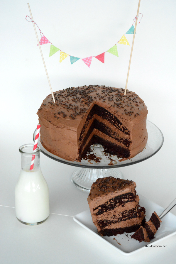 Chocolate Layer Cake - The Idea Room