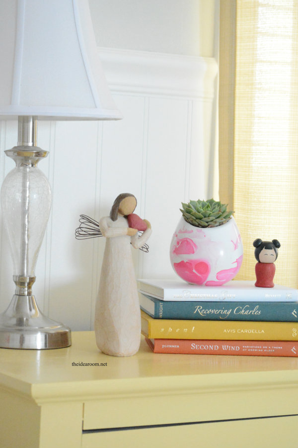 DIY Marbeled Vase 3