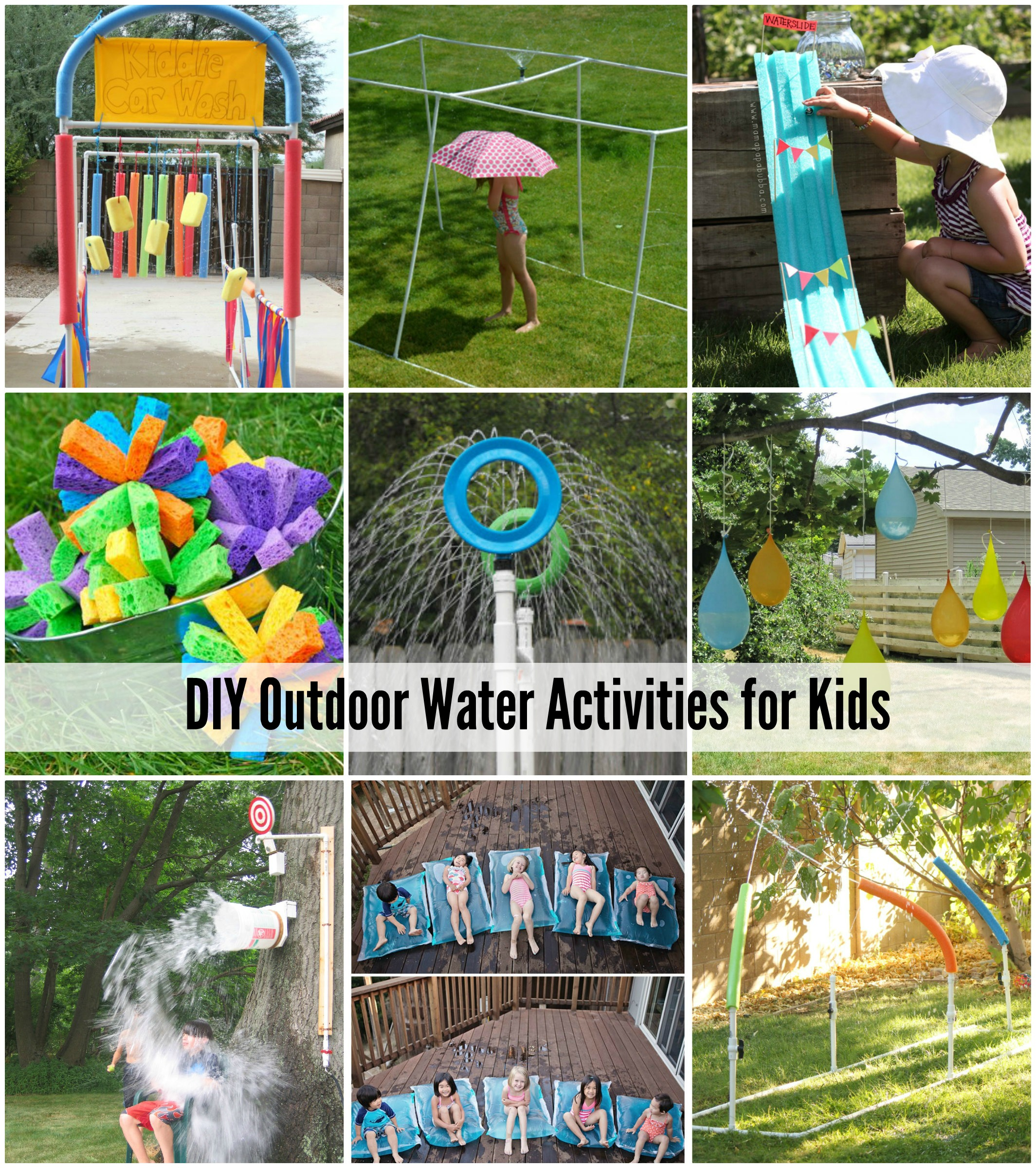 DIY Outdoor Water Activities for Kids