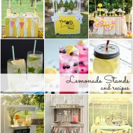 Lemonade Stands and Lemonade Recipes