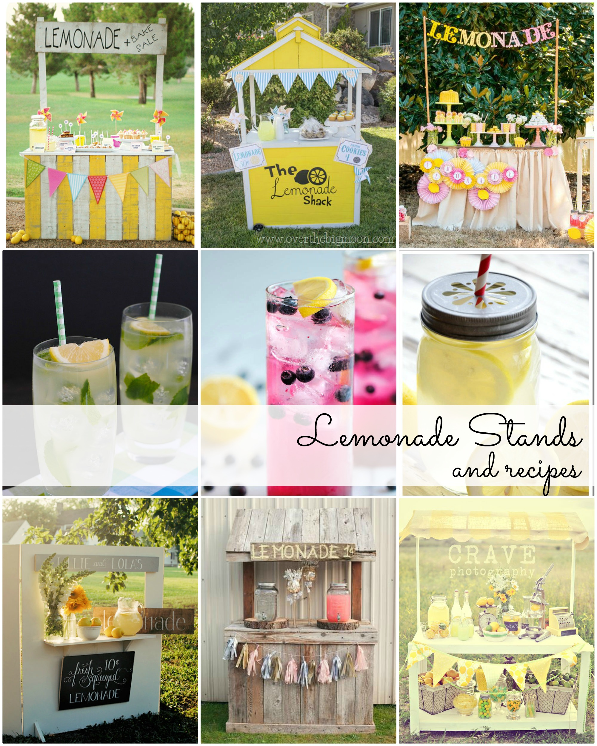 Lemonade stands and lemonade recipes the idea room for Cool lemonade stand ideas