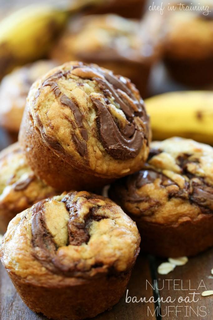 Nutella-Banana-Oat-Muffins