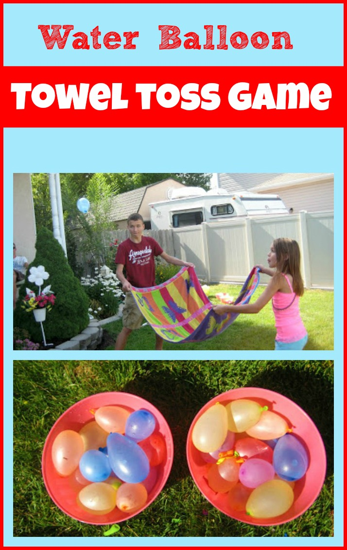 Water-Balloon-Towel-Toss-Game