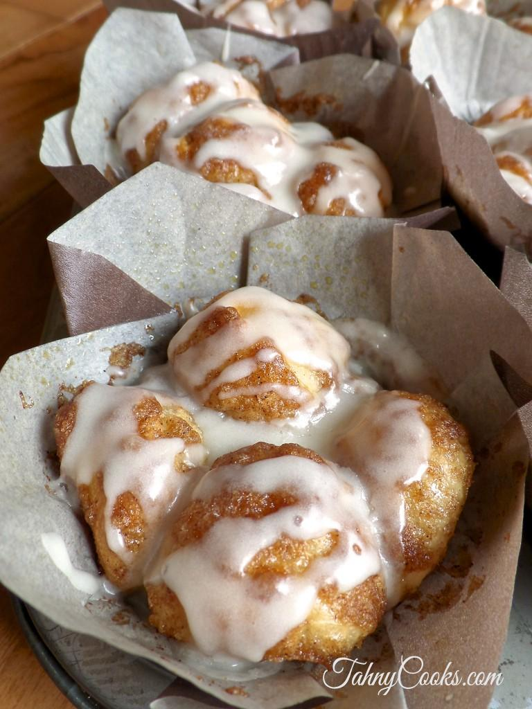 Gooey Monkey Bread Muffins from Tahny Cooks
