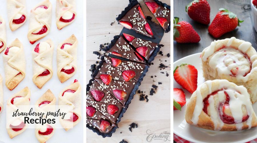 strawberry pastry recipes