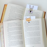 DIY Animal Bookmarks