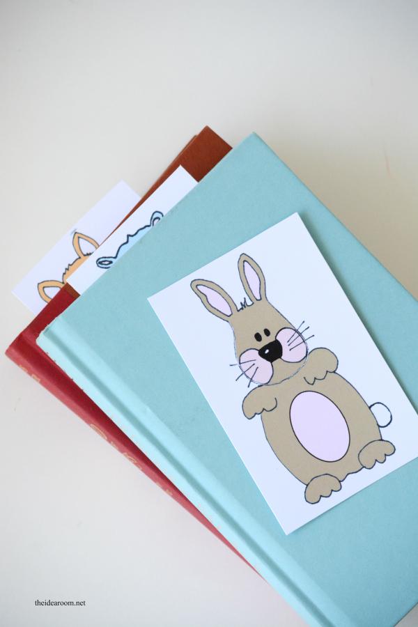 Animal-Bookmarks 4