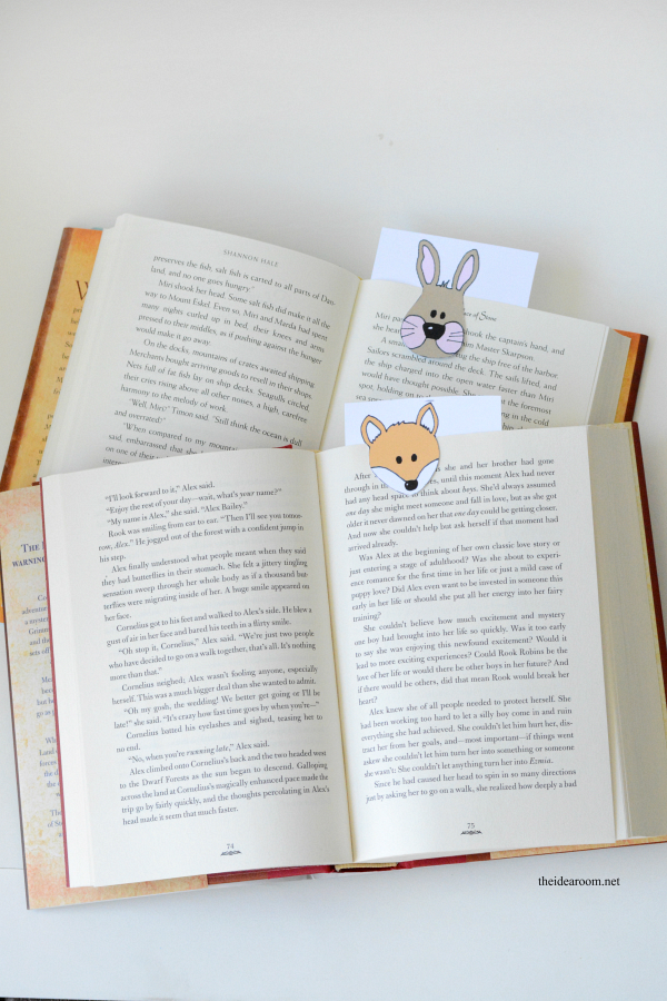 Animal-Bookmarks