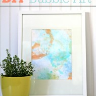 DIY Bubble Art Project