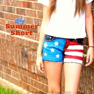 DIY Summer Shorts Tutorial