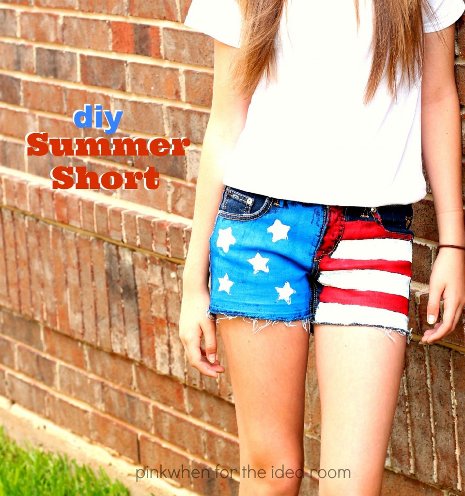 DIY Summer Short Tutorial 10