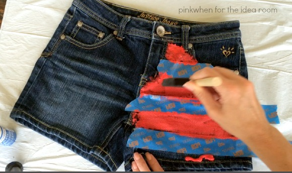 DIY Summer Short Tutorial 5
