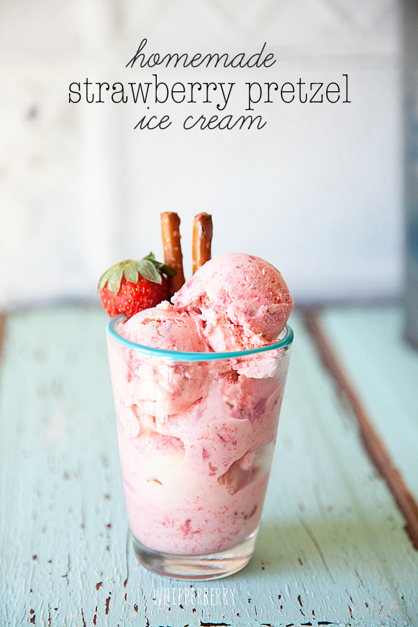 Homemade-strawberry-pretzel-ice-cream-from-Whipperberry