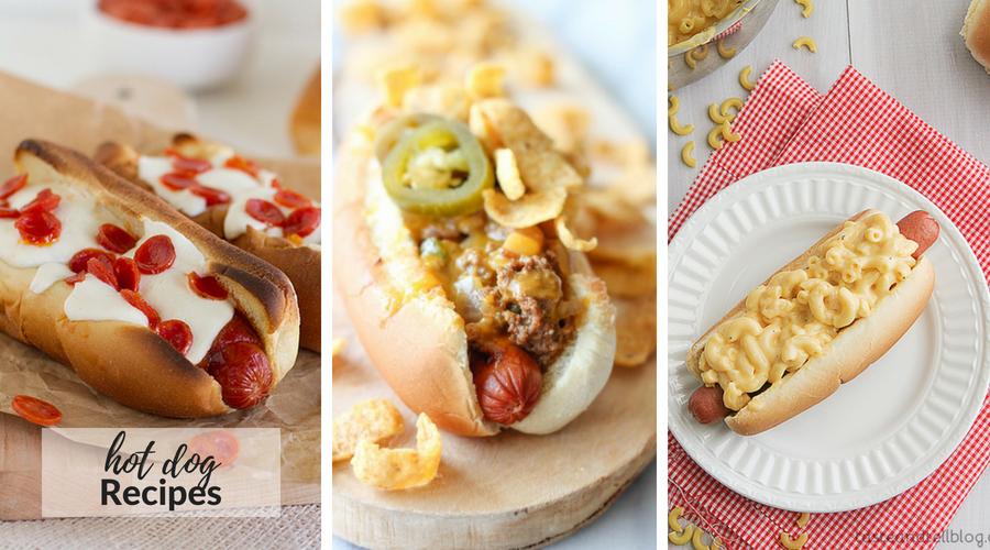 hot dog recipes