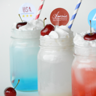Fourth of July Drinks: Italian Soda Bar